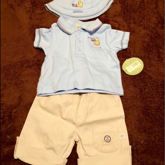 """Winnie The Pooh"" Baby Boys Outfit e188fecd9f8e"